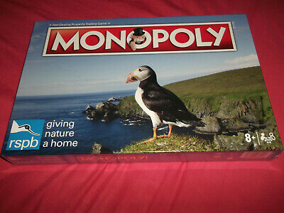 "❆ Board Game ""Monopoly - Exclusive RSPB Edition"" Sealed Condition"