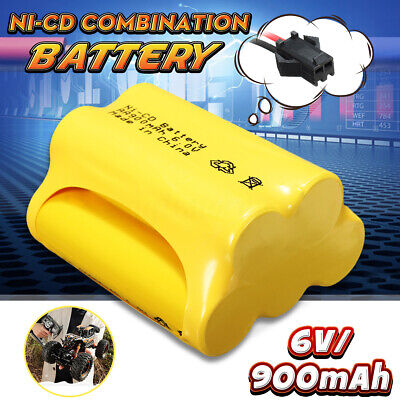 Ni-Cd 6V 900mAh SM2P Plug Rechargeable Battery Solar Light For Racing Remote Con