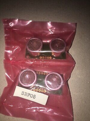 Ultrasonic Range Finder SRF05 bundle of 2