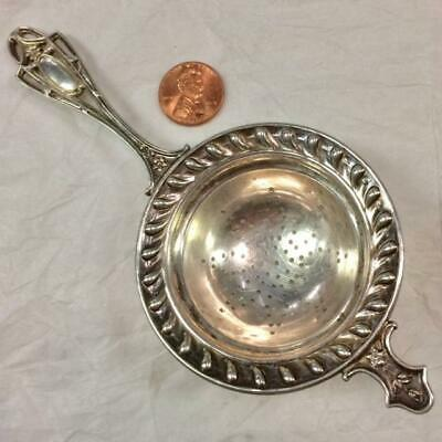 """Frank Whiting Sterling Silver Tea Strainer approximately 6""""  no mono"""