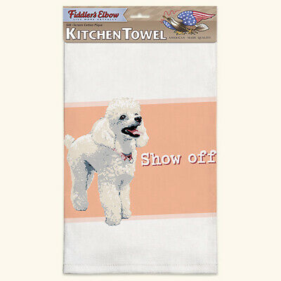 BLACK GREYHOUND TEA TOWEL BY BETTY BOYNS LOVELY QUALITY ITEM 100/% COTTON