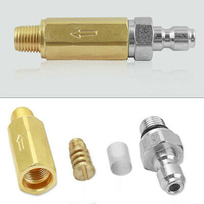 New Pressure Jet Wash Turbo Rotating 060 2500 Nozzle Set Quick Release Coupling