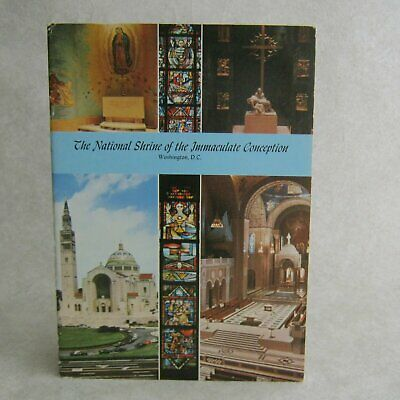 The National Shrine of The Immaculate Conception Vintage 1974 Souvenir Guide