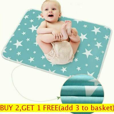 Breathable Mat Towel Absorbent Cloth Diaper Changing  Cover Nappy Urine Pad