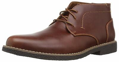 Kids Deer Stags Girls Zeus Leather Lace Up, Redwood/Dark Brown, Size 2.0 6qnc