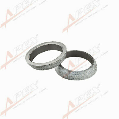 uxcell 2 Pcs 45mm x 60mm Auto Car Exhaust Flange Pipe to Manifold Donut Gasket Header
