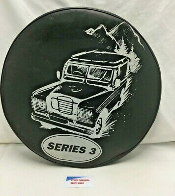LAND ROVER SERIES 3 SPARE WHEEL COVER 205x16