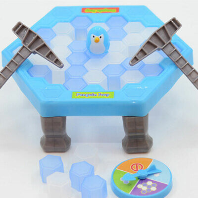 Play Block Kids Gift Penguin Peril Ice Pick Toy Family Party Board Game Icebreak