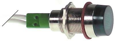 Signal Lamp Green Ø 12mm 24V Connector Cable 200mm