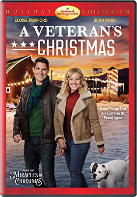 A VETERANS CHRISTMAS New Sealed DVD Hallmark Channel Holiday Collection