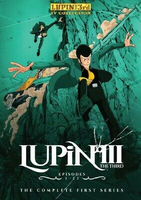 Lupin The 3rd: Complete Original Series (DVD New)
