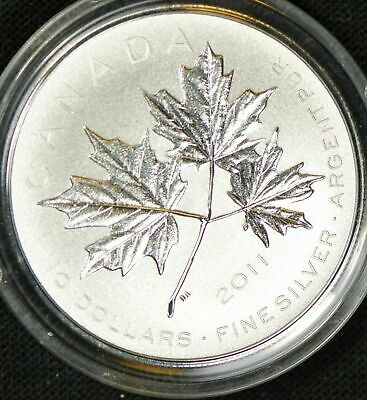 2011 Canada $10 Fine Silver Maple Leaf Forever - Mint in Package