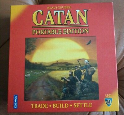 Settlers of Catan. Portable Edition Board Game CN3101 Trade. Build. Settle.
