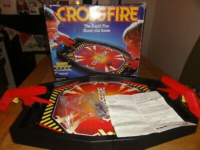 Hasbro Crossfire Rapid Shooting Game Boxed Complete
