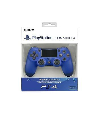 Sony Playstation PS4 DualShock 4 V2 Wireless Controller - Wave blue