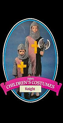 Children's Knight Costume Medieval Coat of Arms SM