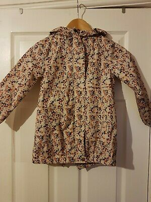 ❤ Gorgeous Girls Next Floral Rain Coat Jacket Age 5 ❤
