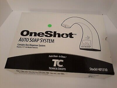 Technical Concepts One Shot AUTO SOAP SYSTEM - 401310  NEW IN BOX