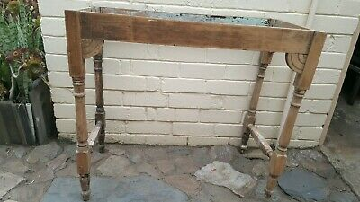 Antique Timber Side Table Writing Desk  Frame to Restore Pick up Adelaide