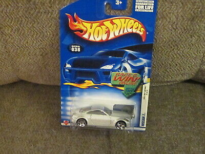 Hot Wheels Nissan Z #038 2002 First Editions Silver
