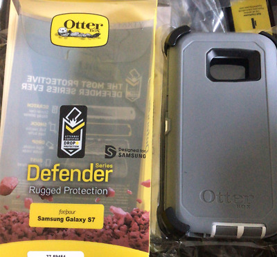 HOT OtterBox DEFENDER SERIES Case for Samsung Galaxy S7 (GRAY) Cover SHIPS FAST