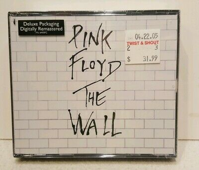 *Sealed*Pink Floyd -The Wall -Capitol Records 2 Cd Fatbox Set-1994 Digitally Rem