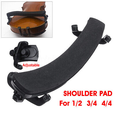 UK Adjustable Wood Violin Shoulder Rest with Sponge Padding Support For 1/2 3/4