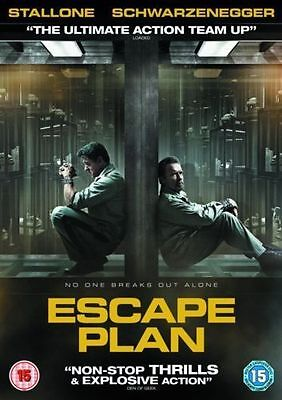 ESCAPE PLAN sylvester stallone Arnold Schwarzenegger NEW Sealed DVD £