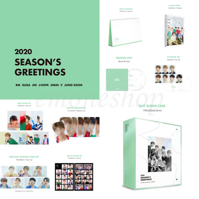 KPOP 방탄소년단 BTS 2020 SEASON'S GREETINGS Official MD + Mouse pad + Tracking No.