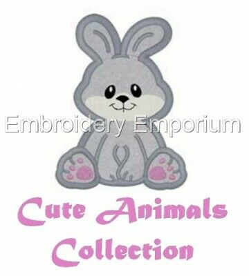 Cute Animals Collection - Machine Embroidery Designs On Cd Or Usb