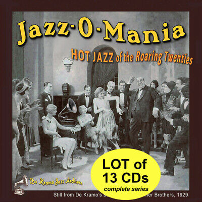 """LOT 13 CDs  REMASTERED —HOT JAZZ of Roaring '20s—Songs at """"Seller's Other Items"""""""