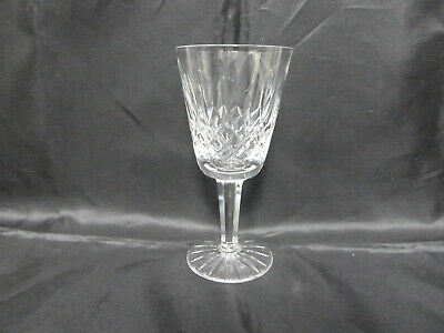 """One Marked Waterford Crystal Cut Glass 5.5"""" Tall Lismore Sherry Glass"""