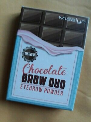 Misslyn Chocolate Brow Duo Eyebrow Powder Medium