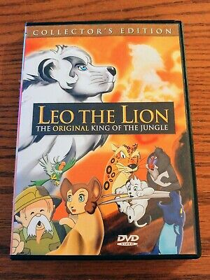 Leo The Lion Collectors Edition Original King Of The Jungle Dvd