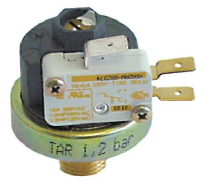 Pressostat for Espresso Machine 1-2, 5bar 250V Ø 38mm Pressure Connection