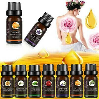 New Aromatherapy Essential Oils 100% Natural Pure 10ml Essential Oil Fragrances*