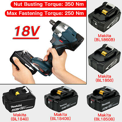 "Replace For Makita DTW285Z 18V Li-ion Cordless Brushless 1/2"" Impact Wrench"