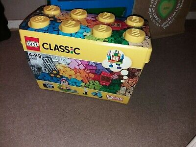 10698 LEGO Large Creative Brick Box Classic Age 4 Years+ with 790 Pieces NEW