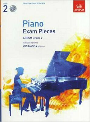 ABRSM Selected Piano Exam Pieces: 2013-2014 (Grade 2) - Book/CD - CD, Sheet Musi