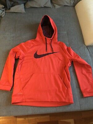 ORIGINAL NIKE HERREN Therma Hoodie Dri Fit XL Training EUR