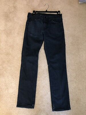 Mens / boys LEVIs 511 skinny straight slim 29 waist 30 inseam blue denim jeans