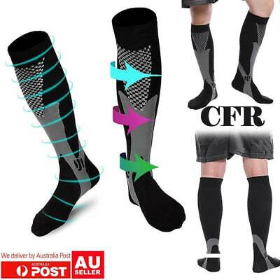 Compression Socks Medical Flight Stockings Travel Graduated Running Anti Fatigue