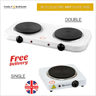 Electric Portable Hot Plate Cooking Hob Stove Cooker Induction Ring 1000-2500W