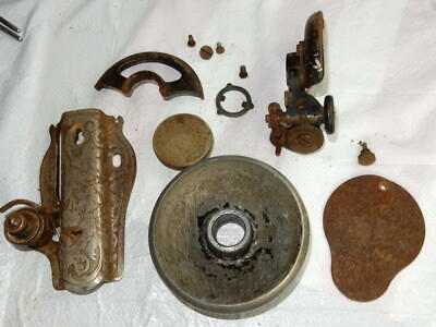 Singer 15 Model Sewing Machine Parts Lot See Pictures of Various Parts