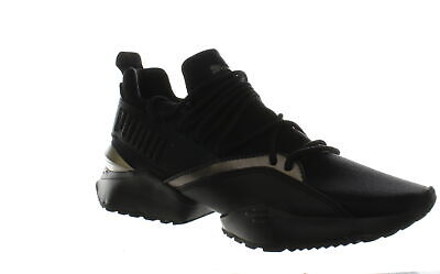 PUMA MUSE MAIA Luxe Wns Black Women Running Casual Lifestyle