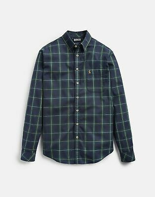 Joules Mens 124871 Long Sleeve Classic Fit Shirt in SMALL CHECK