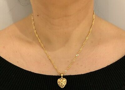 22K 22ct Ladys Woman's Gold Filled 60cms Chain Necklace