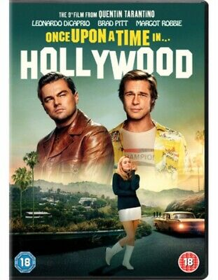 Once Upon a Time In... Hollywood *NEW* DVD