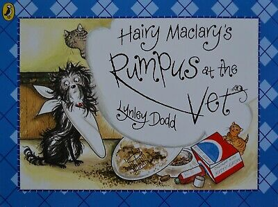 Hairy Maclary's Rumpus at the Vet by Lynley Dodd (Paperback)