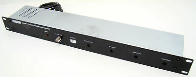 Channels available 3,4,5,6,7,8,9,10 Dracom 300VMF Fixed Channel Modulator